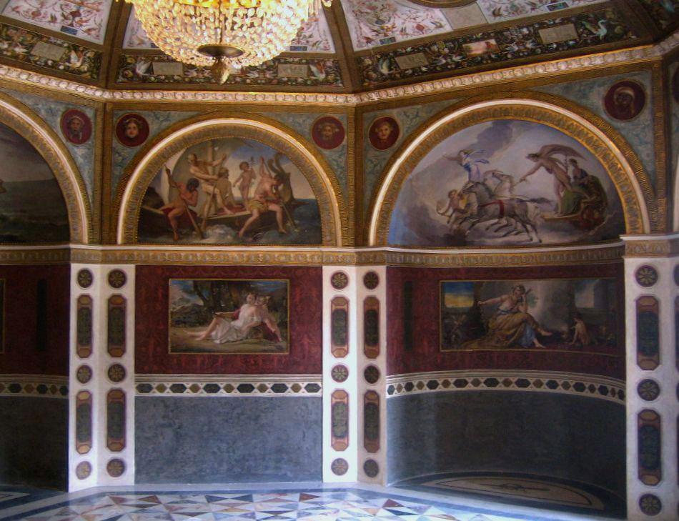 Restauro conservazione opere arte roma - Dipinti murali per interni ...